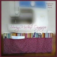 Easy Sewing Machine Organizer Tutorial