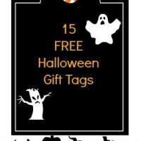 Fridays Freebies-Halloween Gift Tags