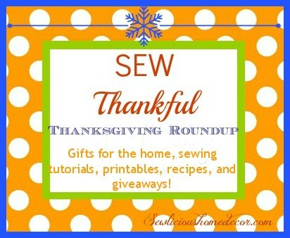 30 days of Thanksgiving gifts1 Sew Thankful Series ~ Tote Bag Gifts {Day 5}