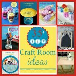 35 New Craft Room Organization Ideas