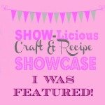 Sewlicious Home Decor craft and recipe party featured Saturday SHOW=licious Craft Showcase