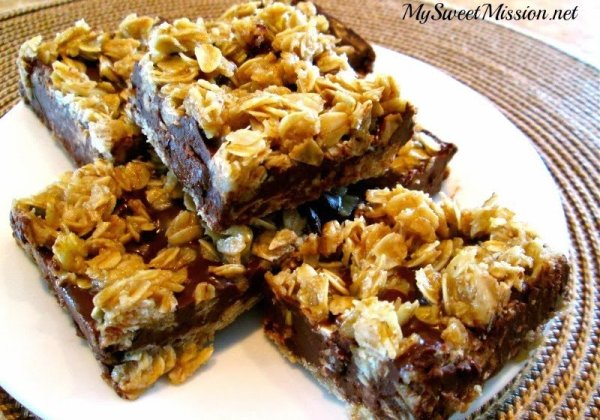 No Bake Chocolate Oat Bars Amazing Recipes To Try This Week!