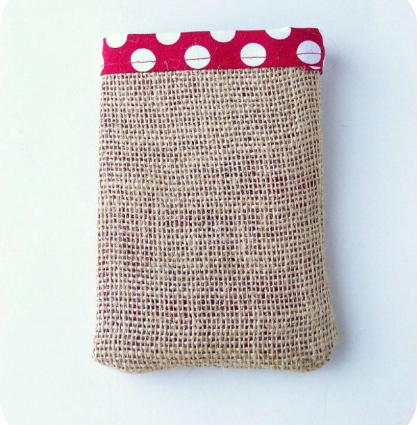 bag Easy Burlap Drawstring Bag Tutorial