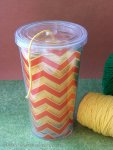 DIY Cup Yarn Container