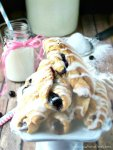 #Pillsbury-#Blueberry-Filled-Cinnamon-Rolls-by-SewliciousHomeDecor