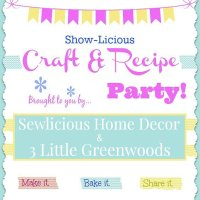 Saturday Showlicious Craft and Recipe Party