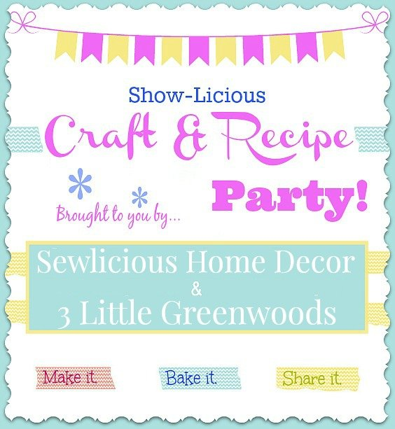 Saturday Party Banner Show licious Craft & Recipe Party LIVE!