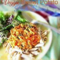 Veggie and Sweet Potato Pasta Sauce at Sewlicioushomedecor.com