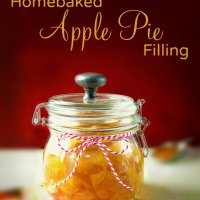Homebaked Apple Pie Filling