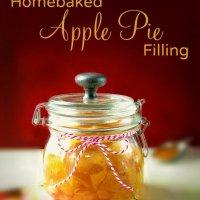 Homebaked Apple Pie Filling at sewlicioushomedecor.com