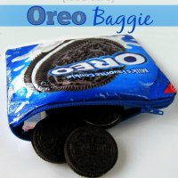 Recycled Food Safe Oreo Cookie Bag to Zipper Bag