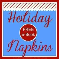 7 Holiday Napkins free e-book