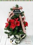 Easy Teapot Christmas Tree at sewlicioushomedecor.com