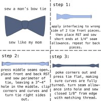 Men's Bow Tie Tutorial