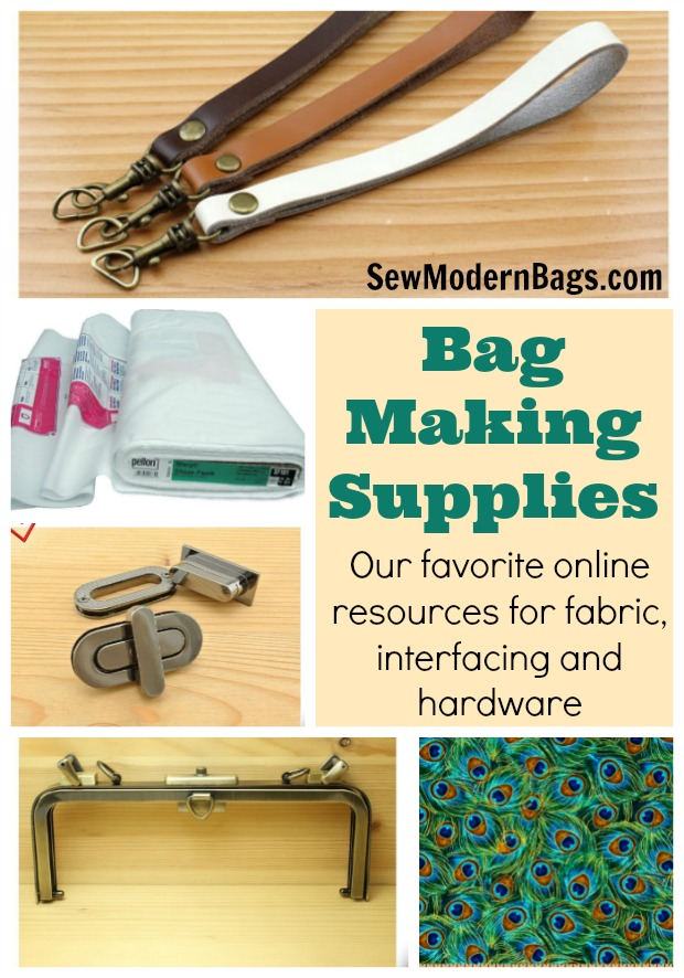 Links and recommendations for all the best online suppliers for specialty fabrics, interfacing and stabilisers and purse hardware. Track down all the best purse and handbag making supplies at the very best prices too.