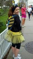 2011 Cape Cod Half Marathon - tutu bumble bee