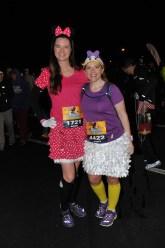 Minnie Mouse and Daisy Duck 2015 Walt Disney World Marathon