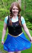 2014 Ocean City Island2Island Half Marathon - Anna from Frozen