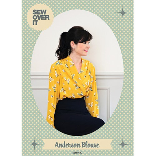 Sew Over it Anderson Blouse-this is another one I already have, everything for, I really just need to sew it up! Her patterns are so cute!