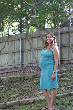 My Staple Maternity Dress