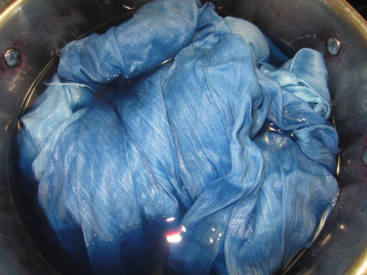 Aquarelle Dyeing: Liquid Indigo