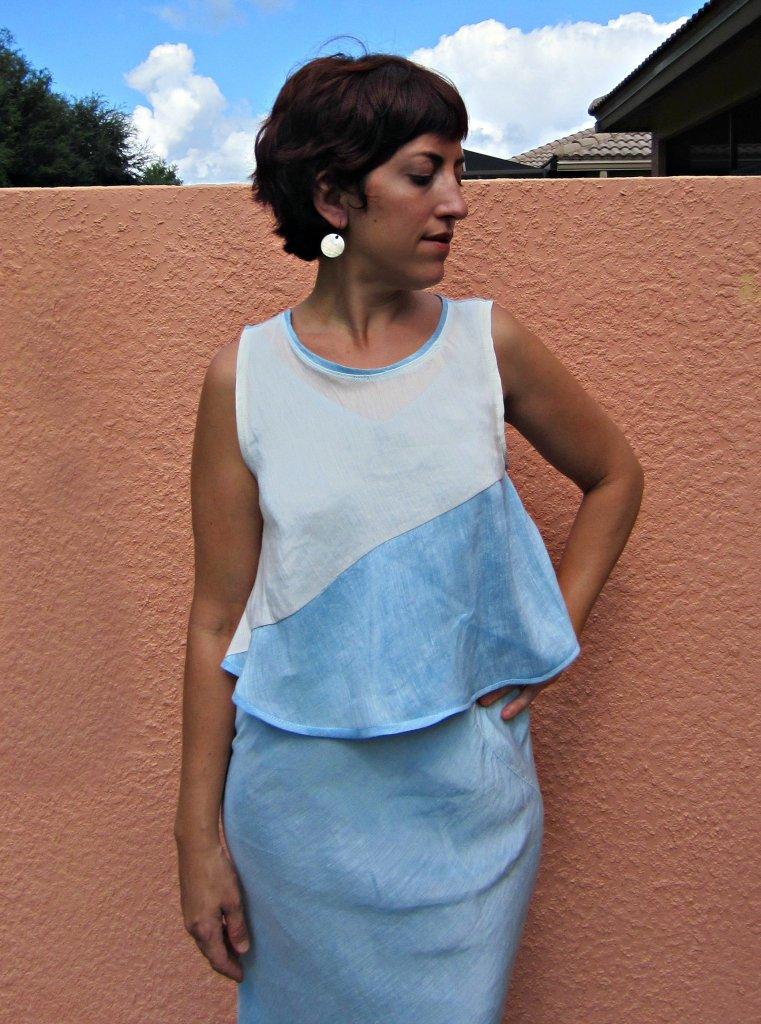 Hemp Silk Swing Tank, Sew Pomona