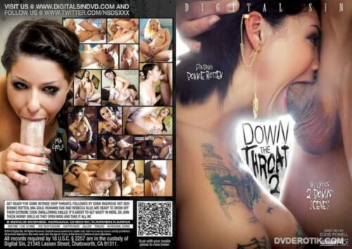 The Sexual Desires of Bonnie Rotten Down The Throat 2