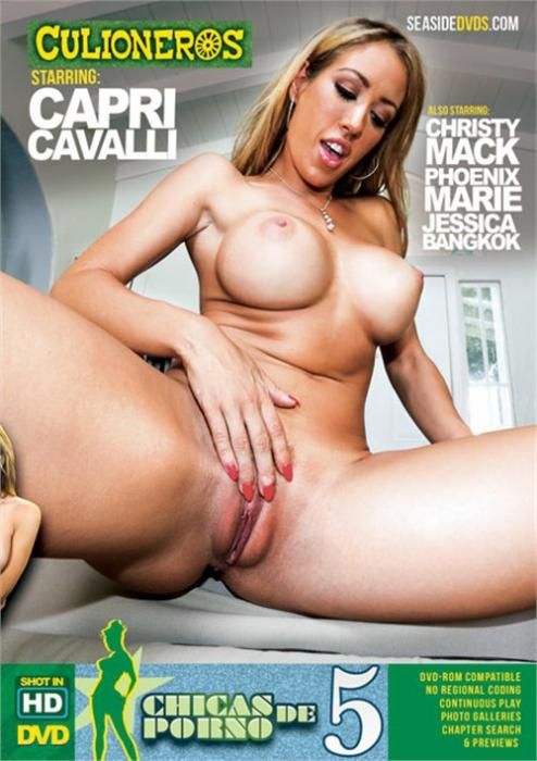 Chicas De Porno 5, Porn DVD, Culioneros, Capri Cavalli, Christy Mack, Phoenix Marie, Jessica Bangkok, Big Boobs, Big Butt, Gonzo, Latin
