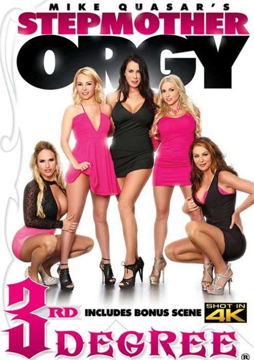 Stepmother Orgy, Porn DVD, Third Degree Films, Mike Quasar, Tegan James, Reagan Foxx, Sasha Jean, Aaliyah Love, Christie Stevens, Dylan Snow, Bill Bailey, Codey Steele, Van Wylde, Adult DVD, All Sex, Family Roleplay, Mature, MILF, Orgy