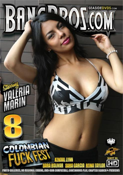 Colombian Fuck Fest 8 Porno DVD by Bang Bros Productions