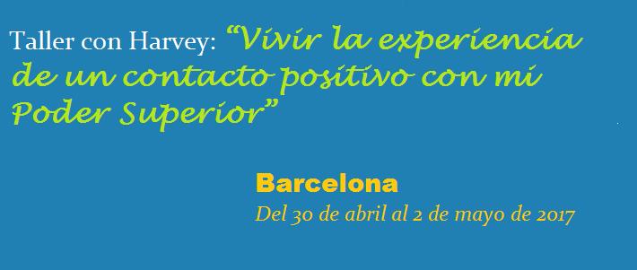 Taller con Harvey- Barcelona 2017