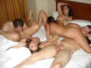Sexo para parejas - orgía swinger