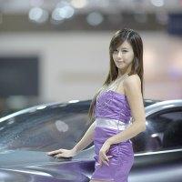 Kim Ha Yul Seoul Motor Show 2011