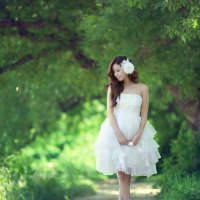 Kim Ha Yul Outdoor Photoshoot