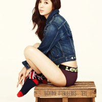 Han Chae Ah High Cut & Levi's