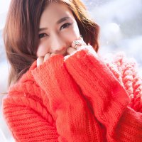Kim Ha Yul Red Photoshoot