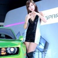 Ryu Ji Hye Seoul Motor Show 2013