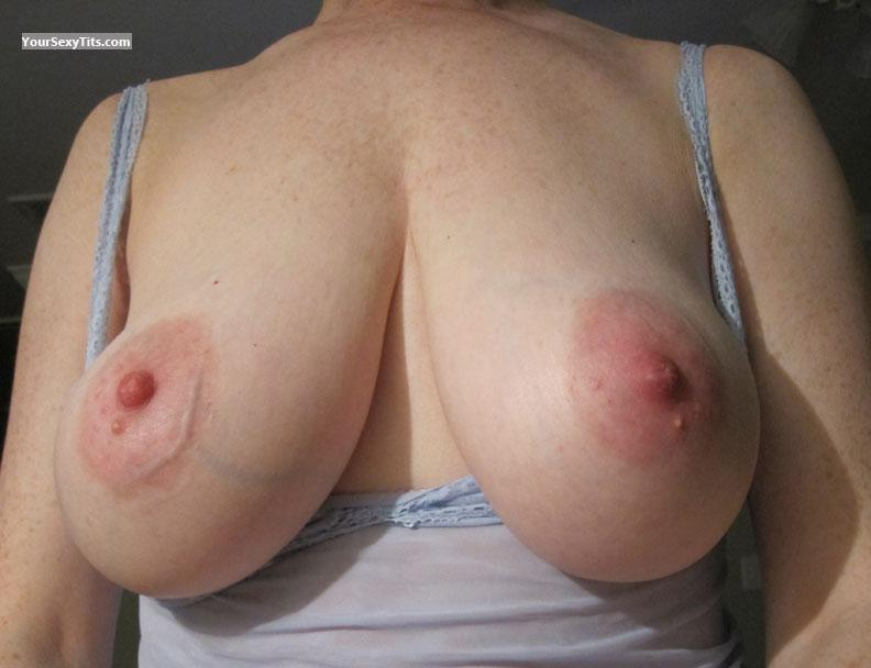 large vein tits close up