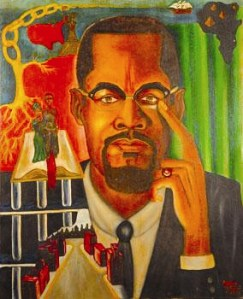 The Malcolm X Experience is the work of political prisoner Zolo Agona Azania.