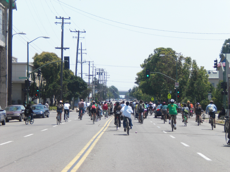 Bikes 4 Life Oakland of Oakland show that unity