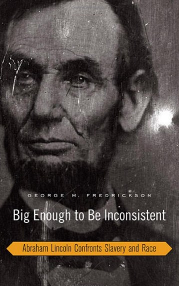 'Big Enough to Be Inconsistent' (Lincoln) cover