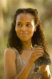 Kerry Washington as Hildy in 'Django Unchained'