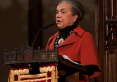 Marian Wright Edelman preaches Trinity Church on MLK Sunday 011512