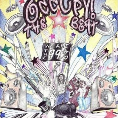 'Occupy the Beat' graphic by Heshima Denham