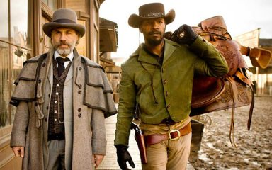 Christoph Waltz, Jamie Foxx in GÇÿDjango UnchainedGÇÖ by The Weinstein Co