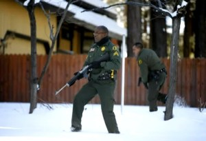 Deputies hunting Christopher Dorner approach cabin 021313