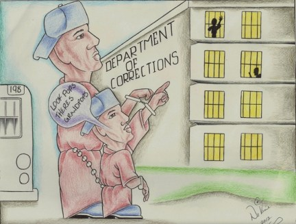 Generational incarceration cartoon, web