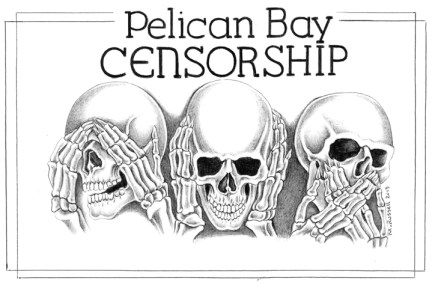 'Pelican Bay Censorship' by Michael Russell, web