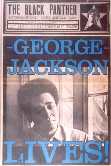 'George Jackson Lives,' The Black Panther newspaper