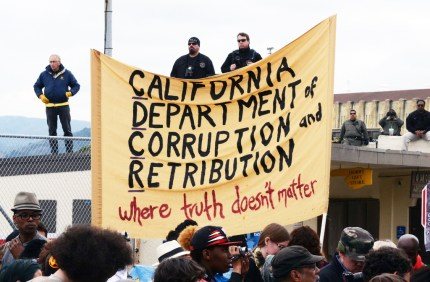 Occupy San Quentin 022012-6 by Bill Hackwell